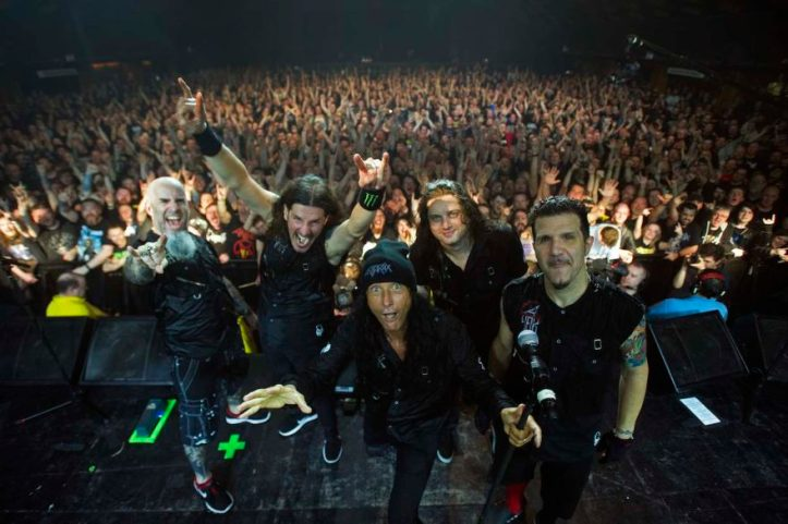 Anthrax Glasgow 15feb17